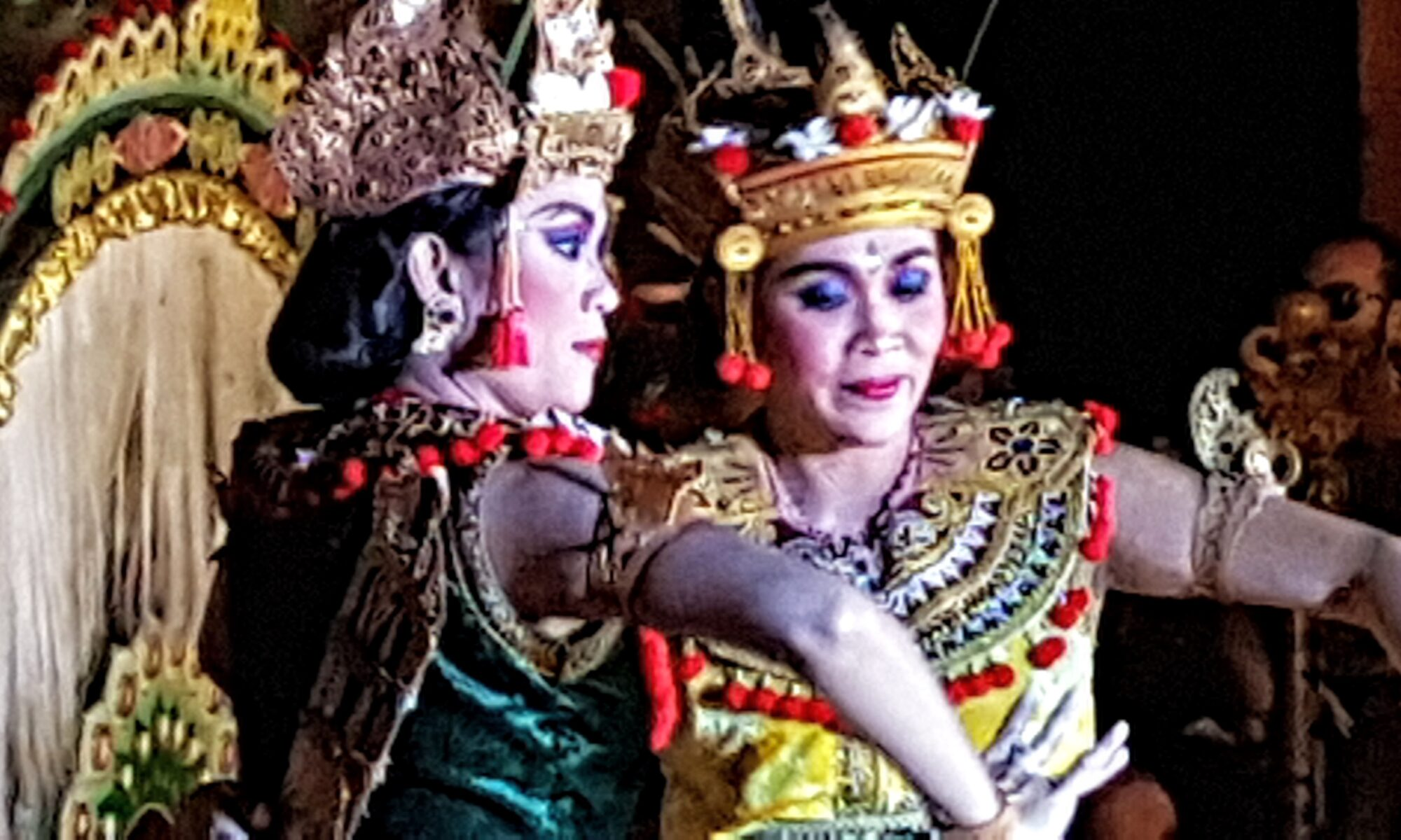Balinese Dancers tell a Story Without Words