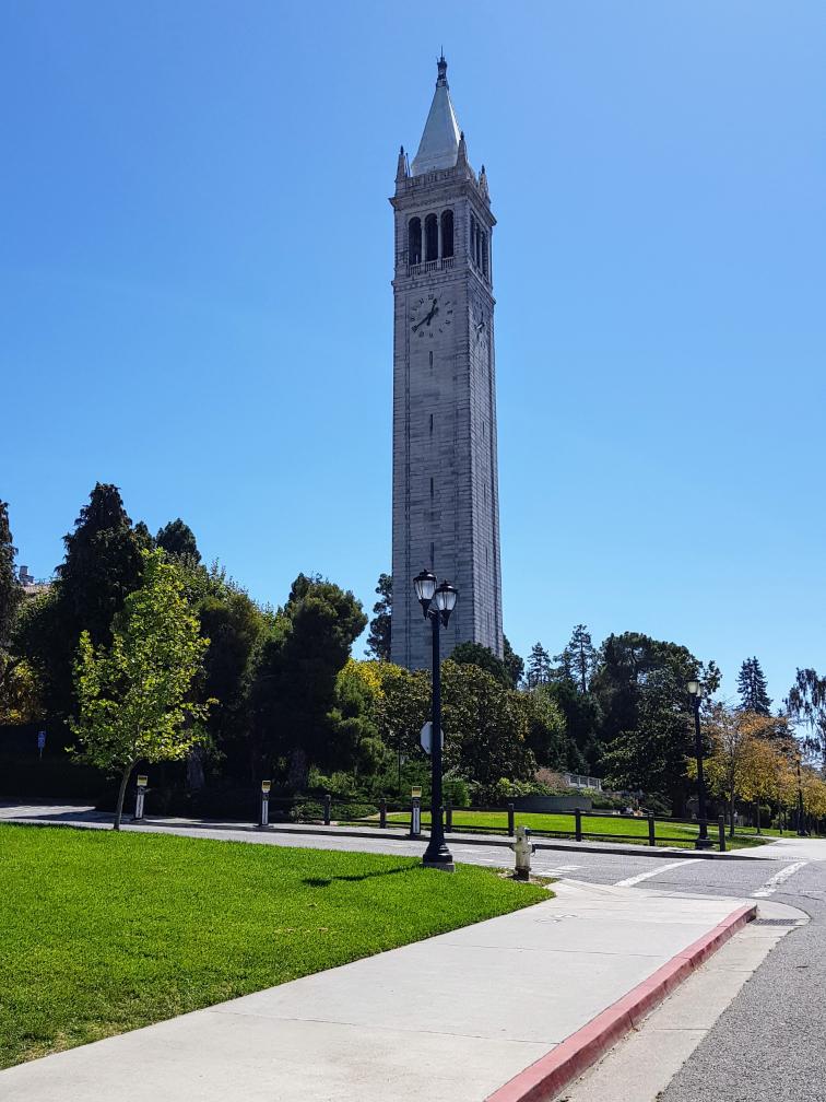 Clock Tower at University of California, Berkeley, USA
