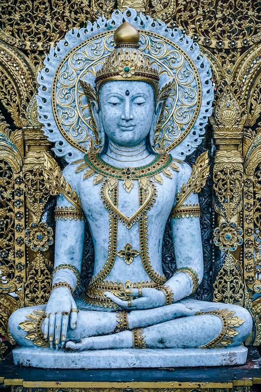 Ornate Buddha Image