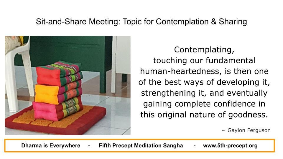 Stack of meditation cushions