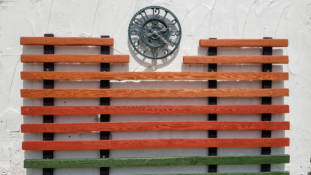 Clock on the wall of Image – Nalagiri House - Carrigahorig, County Tipperary, Ireland - July 2021