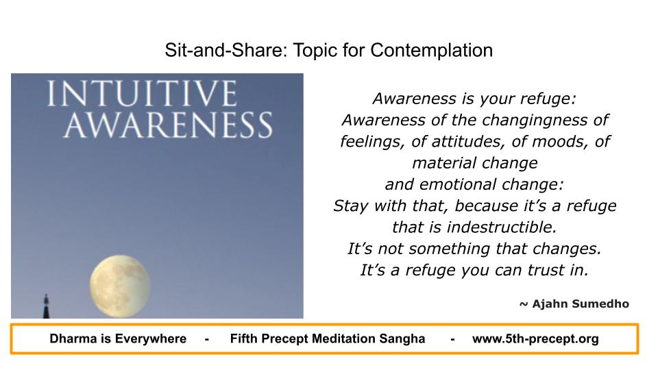 Book cover from 'Intuitive Awareness'